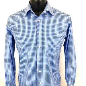 Vineyard Vines Murray Shirt Button Up Blue M